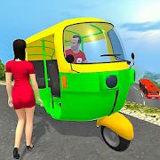 Real Tuk Tuk Rickshaw City Driver: Taxi Games 2021