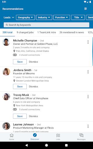 LinkedIn Sales Navigator screenshots 10