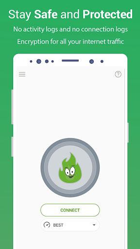VPN Free - GreenNet Unlimited Hotspot VPN Proxy 1.4.4 screenshots 1
