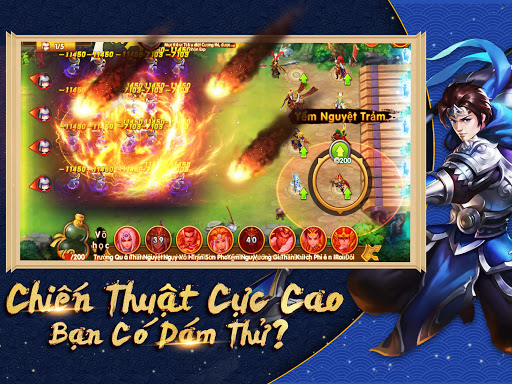 Tam Anh Thu1ee7 Thu00e0nh - Danh Tu01b0u1edbng Thiu00ean Hu1ea1  screenshots 12