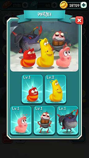 Larva Bubble Pop apkpoly screenshots 3