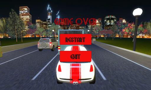 Télécharger Gratuit Nuit Trafic Routier Voiture Jeu de Course - Rocket mod apk screenshots 5