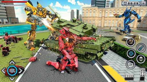 Tiger Robot Transforming Games : Robot Car Games 1.0.9 Screenshots 8