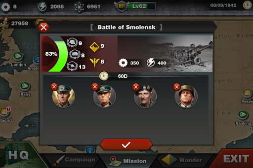 World Conqueror 3  - WW2  Strategy game 1.2.32 Screenshots 2