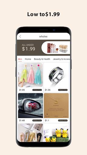 Wholee - Online Shopping Store  screenshots 2