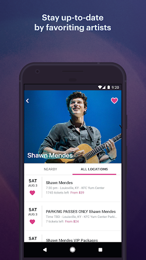 StubHub - Live Event Tickets modavailable screenshots 5