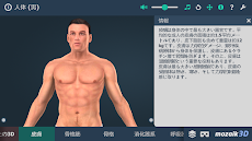 人体 (男)インタラクティブな教育用3Dのおすすめ画像2