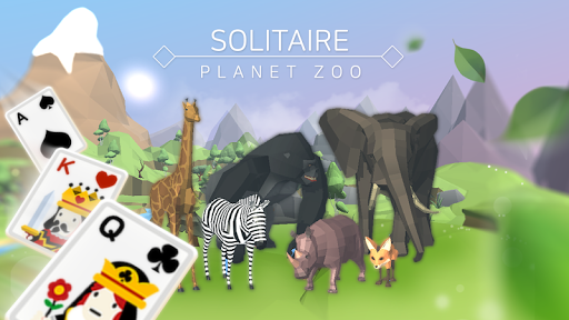 Solitaire : Planet Zoo screenshots 1
