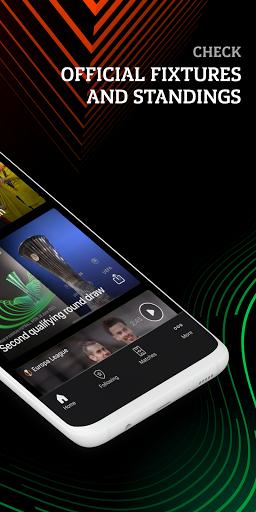 UEFA Europa Official: live football scores & news android2mod screenshots 2