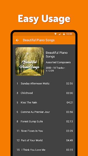 Simple Music Player: MP3 player, no ads, widget screenshots 3
