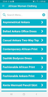 African Women Cloth Styles 9.0.5 Screenshots 1