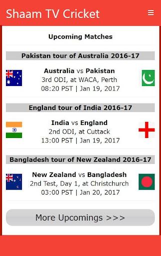 Shaam TV Live Cricket updates from PTV Sports 2.2 screenshots 4