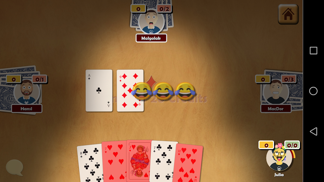 Oh Hell - Online Spades Card Game