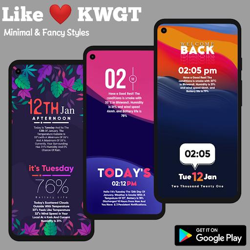 Download APK: Like KWGT v13.0 [Paid]