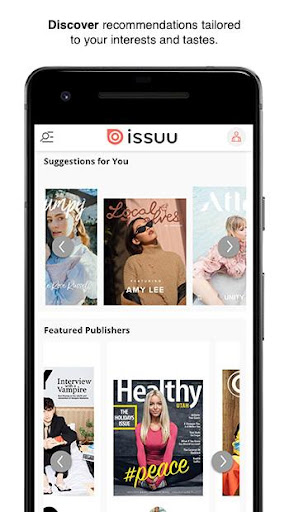 Issuu - u201cCreate & Discover Storiesu201d  Screenshots 3