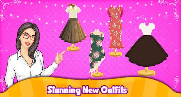 女の子のためのファッションモデルのドレスアップゲーム
