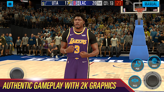 NBA 2k21 Apk + OBB (Latest) For Android 10