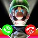 Luigi's Mansion Video Call & Wallpaper