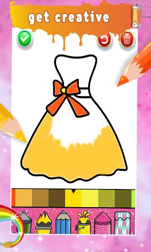 Glitter Nail Drawing Book and Coloring Game 5.0 Screenshots 6