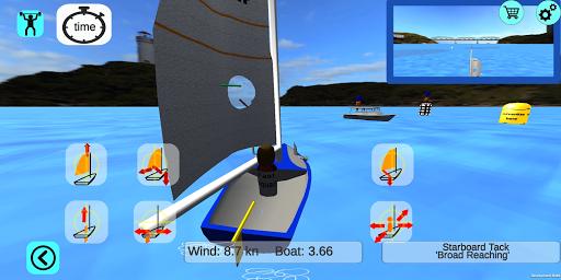 3d sailing simulator, 2sail, screenshot 2