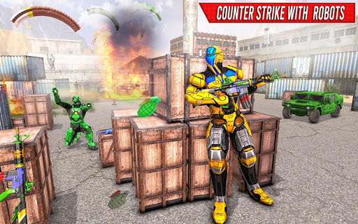 Robot Fps Shooting Games u2013 Fps Counter Strike Game 1.0.9 Screenshots 3
