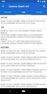 Avia Weather - METAR & TAF 2.12.6 Screenshots 3