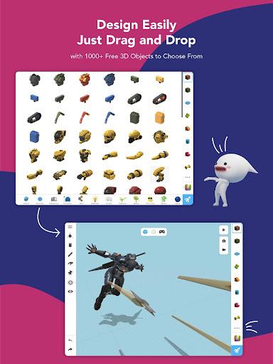 Assemblr - Make 3D, Images & Text, Show in AR! 3.394 Screenshots 12