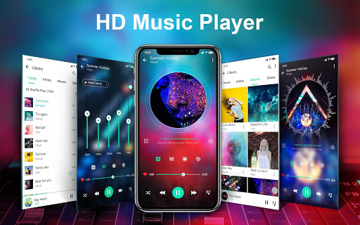 music player & video player with equalizer screenshot 1