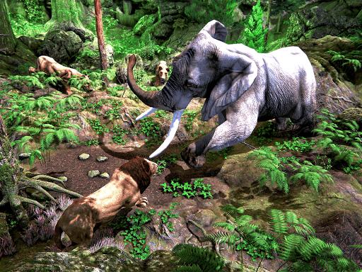 Wild Lion Simulator - Animal Family Survival Game  screenshots 8