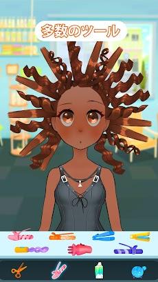 ヘアサロン ファッション &  化粧-子供向けサロンゲームのおすすめ画像2