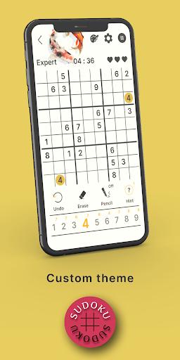 Sudoku - Happy Brain: Classic Free Puzzles 5.4 screenshots 2