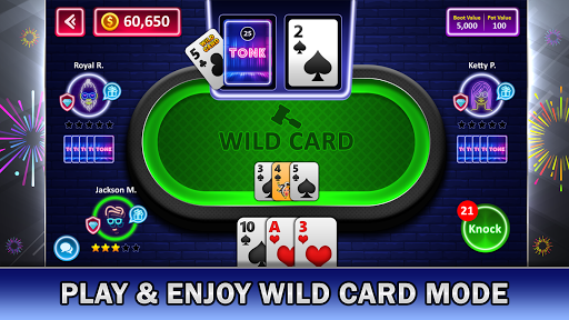 Tonk Online : Multiplayer Card Game android2mod screenshots 11