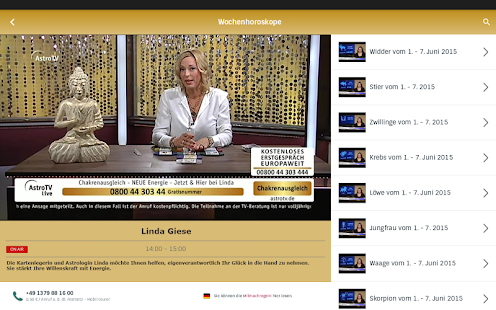 AstroTV - Live Kartenlegen 3.3.1 Screenshots 9