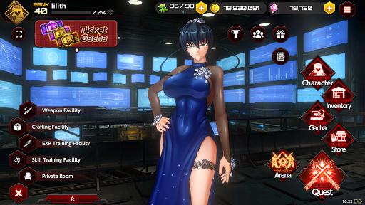 Action Taimanin  screenshots 1