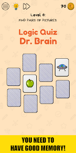 Logic Quiz Dr. Brain: riddles and puzzle game