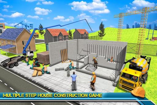 Modern Home Design & House Construction Games 3D  screenshots 1