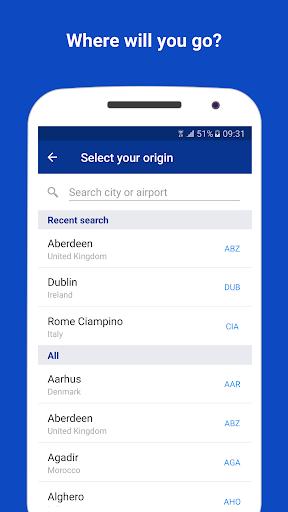 Ryanair - Cheapest Fares apktram screenshots 5