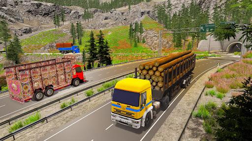 Offroad Transport Truck Driving:Truck Simulator 3D  screenshots 2