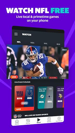 Download APK: Yahoo Sports Get live sports news & scores v9.10.4 [Ad-Free + Mod]