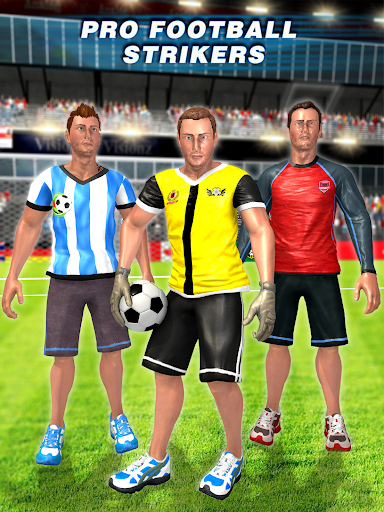 Real Football Player: Soccer Strike League Game 1.7 screenshots 13
