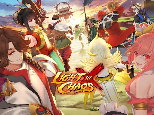 Code Triche Light In Chaos: Sangoku Heroes [Action Fight RPG] APK Mod screenshots 1