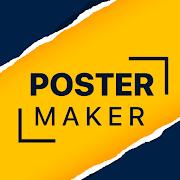 Poster Maker Flyer free Ads Page Design Logo 2021