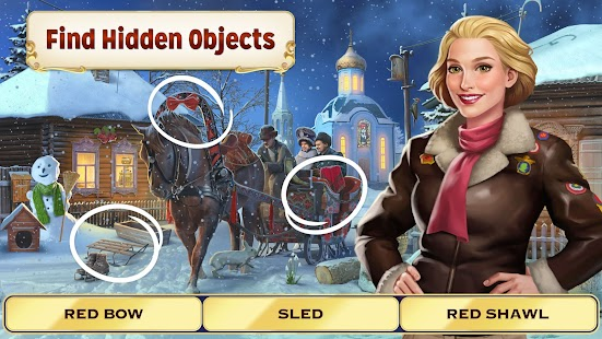 Pearl's Peril - Hidden Object Game Screenshot