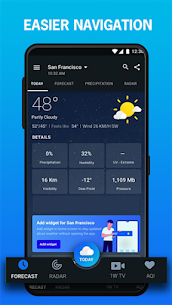 1Weather: Weather Forecast v5.1.3.1 [Pro] [Mod Extra] 2