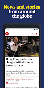 The Guardian - Live World News, Sport & Opinion Screenshot