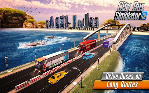 Euro Bus Driver Simulator 3D: City Coach Bus Games 2.1 Screenshots 10