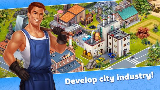 Golden Valley: City Build Sim Mod Apk