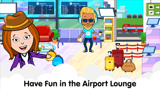 My Airport Town: Kids City Airplane Games for Free 1.6.1 Screenshots 12