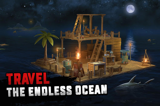 Raft Survival: Ocean Nomad - Simulator 1.166 screenshots 15