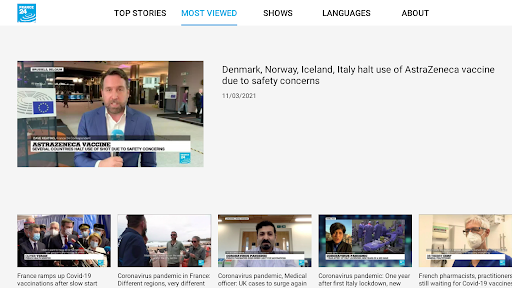FRANCE 24 - Android TV  Screenshots 2